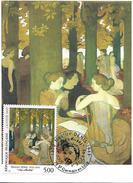 "78  SAINT GERMAIN EN LAYE  Maurice Denis 1870/1943 ""Les Muses"" 2/10/93"