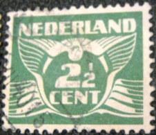 Netherlands 1924 Carrier Pigeon 2.5c - Used - 1891-1948 (Wilhelmine)