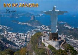 Corcovado, Rio De Janeiro, Brazil Postcard Unposted - Rio De Janeiro