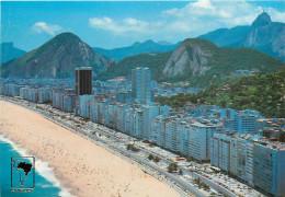 Copacabana, Rio De Janeiro, Brazil Postcard Unposted - Rio De Janeiro