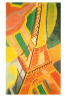 Robert Delaunay, Le Tour Eiffel, Art Painting Postcard Unposted - Peintures & Tableaux