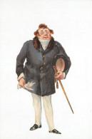 Charles Dickens, Mr Turveydrop,  Bleak House, Art Painting Postcard Unposted - Peintures & Tableaux