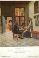 Pieter De Hooch, Art Painting Medici Postcard Unposted - Schilderijen