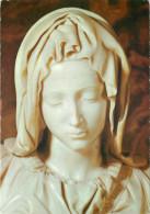 Michelangelo, Pieta, Sculpture Postcard Unposted - Sculpturen