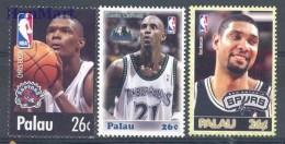 Palau 2004 Mi 2435-2437 MNH -  Basketball  ( ZS7 PAL2435-2437 )