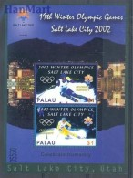Palau 2002 Mi Bl 154 MNH -  2002 Salt Lake City Skiing  ( ZS7 PALbl154 )