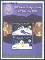 Palau 2002 Mi Bl 150 MNH -  2002 Salt Lake City Skiing  ( ZS7 PALbl150 )