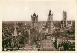 St Nicolas Church, Gent Gand, Belgium Postcard Unposted - Gent