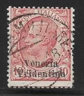 Italy,Occupation Austria, Venezia Tridentina Scott # N55 Used Italy Stamp Overprinted, 1918 - Other