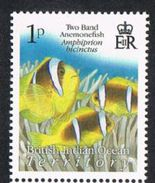 British Indian Ocean Territory 2009 Definitive 1p Unmounted Mint [9/11037/ND] - Stamps