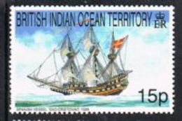 British Indian Ocean Territory SG225 1999 Ships 15p Unmounted Mint [9/11034/1D] - Stamps