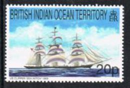 British Indian Ocean Territory SG226 1999 Ships 20p Unmounted Mint [9/11035/1D] - Stamps