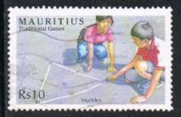Mauritius 2006 Traditional Games 10r Good/fine Used [9/11049/ND] - Mauritius (1968-...)