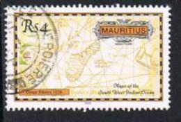 Mauritius SG1081 2002 Maps 4r Good/fine Used [9/11055/1D] - Mauritius (1968-...)