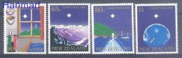 New Zealand 1989 Mi 1084-1087 MNH -  Water Dogs Mountains And Volcanos Earth / Globe Christmas  ( ZS7 NZL1084-1087 )