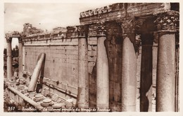 LIBAN---BAALBEK--- Bacchus Temple--- Voir 2 Scans - Libano