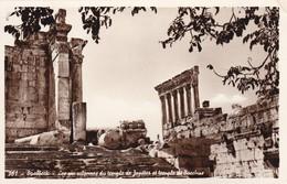 LIBAN---BAALBEK--- Bacchus Temple & The Six Columns Of Jupiter Temple--- Voir 2 Scans - Libanon