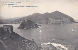 ESPAGNE----SAN SEBASTIAN--isla De Santa Clara Y Monte Igueldo--- Voir 2 Scans - Guipúzcoa (San Sebastián)