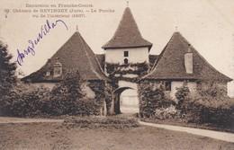 39---château De GEVINGEY--le Porche Vu De L'intérieur--- Voir 2 Scans - Other Municipalities