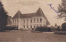 39---château De GEVINGEY--façade Sur Le Parc--- Voir 2 Scans - Other Municipalities
