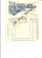 88 - Vosges - BULGNEVILLE - Facture LINGE - Vins Et Spiritueux En Gros – 1911 - REF 44 - France
