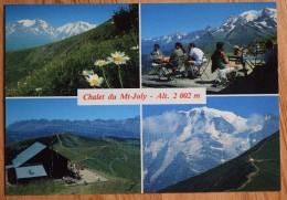 74 : St-Gervais - St-Nicolas-de-Véroce - Chalet Restaurant Du Mont-Joly - Le Plus Ancien De La Région - (n°6827) - Saint-Gervais-les-Bains