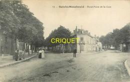 51 Ste Menehould, Rond Point De La Gare, écrite 1916 - Sainte-Menehould