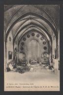 DD / 11 AUDE / LIMOUX / INTÉRIEUR DE L'EGLISE DE NOTRE-DAME DE MARCEILLE / CIRCULÉE EN 1924 - Limoux