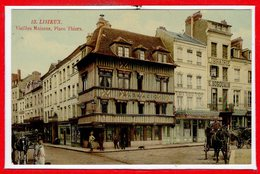 14 - LISIEUX -- Vieilles Maisons , Place Thiers - Lisieux