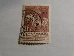 COB 95 2c+2c Brun Lilas - 1910-1911 Caritas