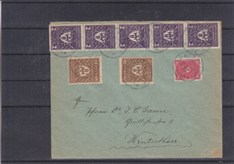 Allemagne - Empire - Lettre De 1922 ° Expédié Vers Winterthur - Briefe U. Dokumente