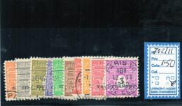 FRANCE OBLITÉRÉ - N° 702/11