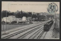 ATHIS MONS - La Ligne D' Orléans - Vue Prise Du Pont  De L' Avenue De Seine - Athis Mons
