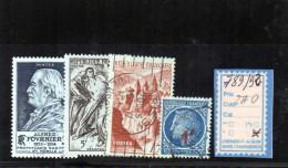 FRANCE OBLITÉRÉ - N° 789/91