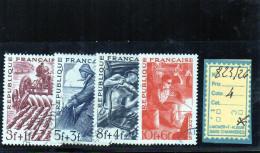 FRANCE OBLITÉRÉ - N° 823/26