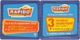 #D121-070 Viltje Rapido - Sous-bocks