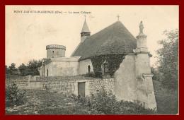 Dept 60    Pont Sanite Maxence   -   Le Mont Calippet  ( Scan Recto Et Verso ) - Pont Sainte Maxence