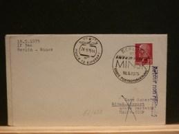 63/652    LETTRE   VOL     INTERFLUG   1975  MINSK - [6] République Démocratique