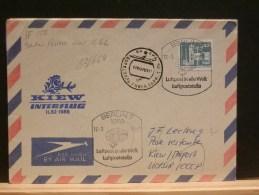 63/664   LETTRE   1989   VOL.  INTERFLUG   KIEW - [6] République Démocratique