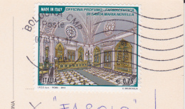 ITALIA -2012 OFFICINA PROFUMO SU CARTOLINA DA BOLOGNA - 6. 1946-.. Repubblica