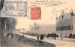 80-AMIENS- EXPOSITION INTERNATIONALE D'AMIENS, VUE D'ENSEMBLE DES PALAIS 1906 - Amiens