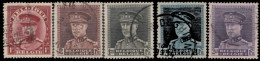Belgique 1931. ~ YT 317/22 - Albert 1er (5 V)