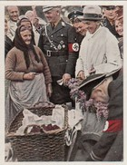 Photo 243 SALEM - 3ème Reich -   Dr. Goebbels Achete Des Poissons / Dr. Goebbels Kauft Flundern - Dokumente