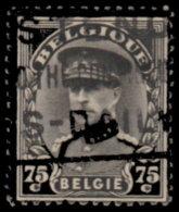 Belgique 1934. ~ YT 384 - Mort Du  Roi Albert 1er