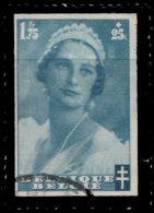Belgique 1935. ~ YT 417 - Mort De La Reine Astrid