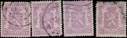 Belgique 1936. ~ YT 422 Par 4 - 20 C. Armoiries