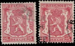 Belgique 1936. ~ YT 423 Par 2 - 25 C. Armoiries