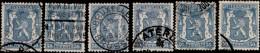 Belgique 1936. ~ YT 426 Par 6 - 50 C. Armoiries