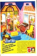 """PUB  POUPEE """" BARBIE """" De MATTEL 1980 (10) - Barbie"""
