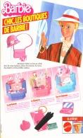 """PUB  POUPEE """" BARBIE """" De MATTEL 1983 (12) - Barbie"""